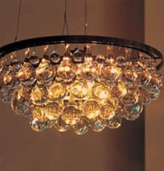 eclectic chandeliers by OCHRE