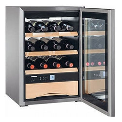 """Liebherr - WS-1200 12 Wine Bottle Capacity 17"""" Freestanding Wine Cooler  Insulated Glass Do - Liebherr is the worldwide leader in premium refrigeration With over 50 years of experience in cooling the German manufacturer sets the pace with continuous product innovation and a proactive approach to responsible manufacturing"""