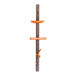 Clip Tree Orange Solo 2, Walnut/Tray - If your hallway is lacking storage space, you might want to invest in one of these. It comes with a few different hooks and trays for all your everyday needs.