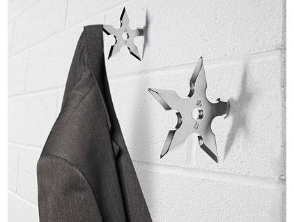 Eclectic Wall Hooks by ThinkGeek