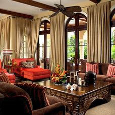Mediterranean Living Room by FAVA DESIGN GROUP