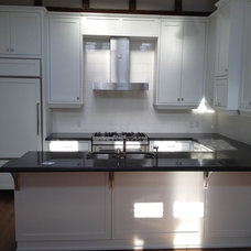 Contemporary Kitchen Cabinets by P.J.B. Construction Ltd.
