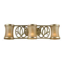 Vaxcel - Vaxcel NB-VLD003VB Newbury 3-Light Vanity Venetian Brass - Vaxcel NB-VLD003VB Newbury 3-Light Vanity Venetian Brass