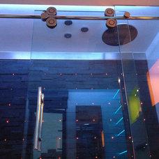 Modern Showers by John Whipple - By Any Design ltd.