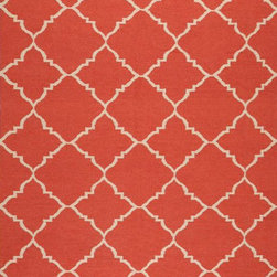 Surya Frontier Rug - I think this rug is the perfect shade of red because it's not quite red. The subtle coral undertones really warm it up, make it easier on the eyes and make it a more versatile accessory. Rich, vibrant, dense color like this doesn't come around every day, certainly not in a rug. It's definitely a favorite.