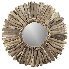 Eclectic Wall Mirrors by Crate&Barrel