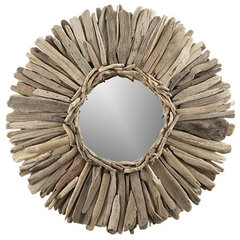 eclectic mirrors by Crate&amp;Barrel