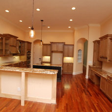 Traditional Kitchen by McCrea Construction