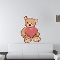 Holiday Valentines Day Vinyl Wall Decal HolidayValentinesDayUScolor011; 72 in. - Vinyl Wall Decals are an awesome way to bring a room to life!