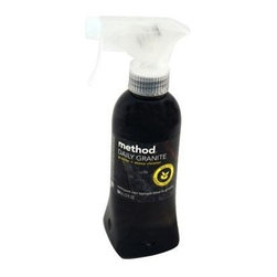 Method Products Granite And Marble Cleaner Spray - 12 Oz - Leave any granite or marble surface smooth, shiny and residue free with this polishing spray. The gentle corn and coconut oil formula buffs and cleans and the bottle is 100% recycled plastic. Method Cleanings' naturally derived products give you a clean feeling that's safe for you and safe for the environment. Products are non-toxic and made from renewable and/or abundant natural resources. Great orchard blossom scent!