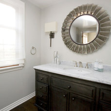Transitional Bathroom by Maison Luxe