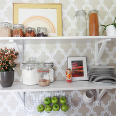 eclectic kitchen by Meg Padgett