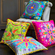 Eclectic Pillows by Graham and Green