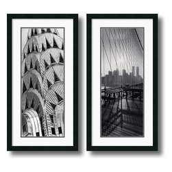 Amanti Art - New York Panels - set by Torsten Andreas Hoffman - These fine art prints by photographer Torsten Andreas Hoffman captures the testament of American engineering and tenacity.