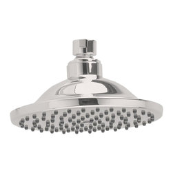 """American Standard - American Standard 1660.660.295 6"""" Rain Showerhead, Satin Nickel - American Standard 1660.660.295 6"""" Rain Showerhead, Satin Nickel. This 6"""" calming rain showerhead features a drenching rain water flow, easy to clean surfaces, a solid brass construction, and a 2.5 GPM maximum flow rate."""