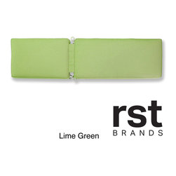 RST Brands - RST Outdoor Sunbrella Chaise Lounge Cushion - Enhance your chaise lounge chairs with our lounger cushion,wrapped in Sunbrella fabric to withstand the elements.
