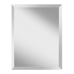 """Murray Feiss - Murray Feiss MR1152 Infinity 28"""" Height x 22"""" Width Clear Retangular Mirror - Murray Feiss MR1152 Infinity 28"""" Height x 22"""" Width Clear Retangular MirrorTwenty eight inches in height, this clear glass rectangular wall mirror adds luxury to any room. With its traditional d�cor, this rectangular shaped mirror from the Infinity Collection is distinct and eye-catching. Hanging hardware included and affixed to the frame enabling mirror to be hung horizontally or vertically.Murray Feiss MR1152 Features:"""