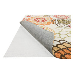 """Loloi Rugs - Loloi Rugs Secure Grip Rug Pad Collection - Beige, 12'-0"""" x 15'-0"""" - Easily Trimmed to fit. Prevents rug from wrinkling, buckling, shifting and slipping.  Offers superior air circulation and makes vacuumming easier."""