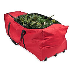 Treekeeper - Extra Large Rolling Tree Storage Duffel - With this Christmas Storage Tree Bag your tree will stay in good condition from year to year...