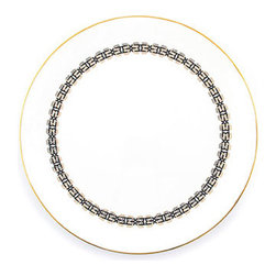 Sibyl Dinner Plate - Industrious socialite Sibyl Colefax, who powered through Black Tuesday and a World War to build her legendary interior design business, might be pleased to see the refined lines of her namesake collection.
