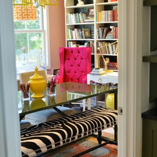 pink, yellow, houndstooth office.jpg