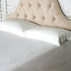 Velvet Tufted Headboard