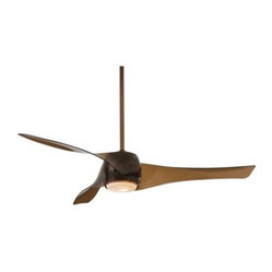 Minka Aire F803-CPBR Artemis 58 in. Indoor Ceiling Fan - Copper Bronze