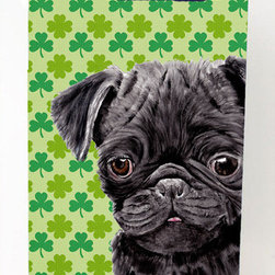Caroline's Treasures - Pug Black Shamrock Portrait Michelob Ultra Koozies for slim cans - Pug Black St. Patrick's Day Shamrock Portrait Michelob Ultra Koozies for slim cans SC9286MUK Fits 12 oz. slim cans for Michelob Ultra, Starbucks Refreshers, Heineken Light, Bud Lite Lime 12 oz., Dry Soda, Coors, Resin, Vitaminwater Energy, and Perrier Cans. Great collapsible koozie. Great to keep track of your beverage and add a bit of flair to a gathering. These are in full color artwork and washable in the washing machine. Design will not come off.