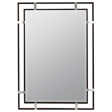 Kinzie Wall Mirror by Cooper Classics ~ 24 x 34 inches