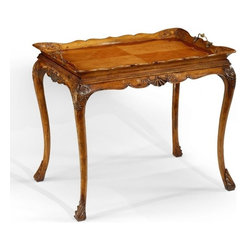 Jonathan Charles - New Jonathan Charles Tea Table Satinwood - Product Details