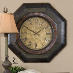 "6743 Balsar, Clock by Uttermost - Get 10% discount on your first order. Coupon code: ""houzz"". Order today."