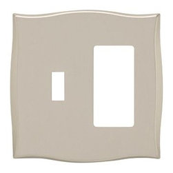 Liberty Hardware - Liberty Hardware 144056 Selby WP Collection 4.96 Inch Switch Plate - A simple change can make a huge impact on the look and feel of any room. Change out your old wall plates and give any room a brand new feel. Experience the look of a quality Liberty Hardware wall plate. Width - 4.96 Inch, Height - 4.88 Inch, Projection - 0.27 Inch, Finish - Bronze W/Copper Highlights, Weight - 0.5 Lbs.