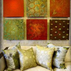Modern Pillows by Deborah Main