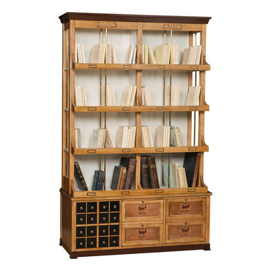 Nancelle collection - Bookcase Domaine (top and bottom units)