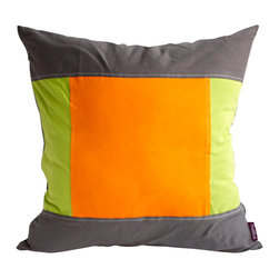 Blancho Bedding - [Sport Zone] Knitted Fabric Patch Work Pillow Floor Cushion 19.7 by 19.7 inches - Aesthetics and Functionality Combined. Hug and wrap your arms around this stylish decorative pillow measuring 19.7 by 19.7 inches, offering a sense of warmth and comfort to home buddies and outdoors people alike. Find a friend in its team of skilled and creative designers as they seek to use materials only of the highest quality. This art pillow by Onitiva features contemporary design, modern elegance and fine construction. The pillow is made to have invisible zippers, knitted fabric shells and fill-down alternative. The rich look and feel, extraordinary textures and vivid colors of this comfy pillow transforms an ordinary, dull room into an exciting and luxurious place for rest and recreation. Suitable for your living room, bedroom, office and patio. It will surely add a touch of life, variety and magic to any rooms in your home. The pillow has a hidden side zipper to remove the center fill for easy washing of the cover if needed.