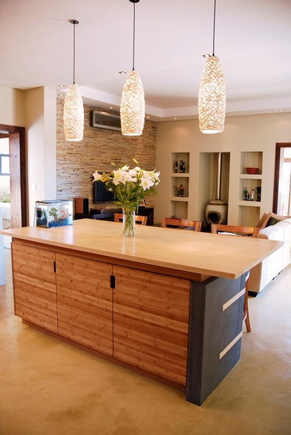 Contemporary Kitchen Countertops by Oriental Bamboo