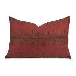 IMAX CORPORATION - IK Arezo Beaded Embroidery Pillow with Down Insert - IK Arezo Beaded Embroidery Pillow w/ Down Insert. Find home furnishings, decor, and accessories from Posh Urban Furnishings. Beautiful, stylish furniture and decor that will brighten your home instantly. Shop modern, traditional, vintage, and world designs.