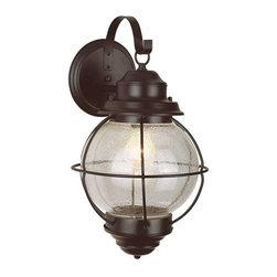 Trans Globe Lighting - Trans Globe Lighting 69901 BK Outdoor Wall Light In Black - Part Number: 69901 BK