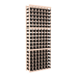 Wine Racks America - 7 Column Standard Wine Cellar Kit in Pine, White Wash Stain - Seven columns of beautiful wooden wine storage. Elegant yet strong, this racking offers softened edges to create aesthetic beauty in the finish that is also soft on your hands and bottle labels. Rack quality and customer satisfaction are Wine Racks America guarantees.