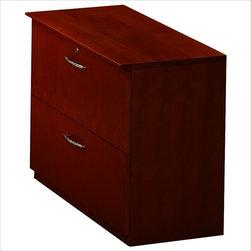 Mayline - Mayline Napoli Collection 2 - Drawer Lateral Wood File Storage Cabinet - Mayline - Filing Cabinets - VLFCRY