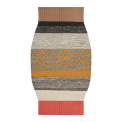 Gandia Blasco - Patricia Urquiola - MC2 Campana Wool Rug - Gandia Blasco - All of the modern rugs by Gandia Blasco are Goodweave certified and the perfect addition to any room in your home. Yarn composition: 100% New Wool. Hand loomed. Designed by Patricia Urquiola.