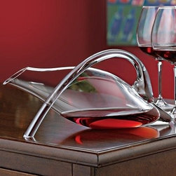 Fusion Break Resistant Duck Decanter - - Capacity: 42 Oz