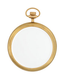 Print - Mirror Parcival Brass, Aged Brass - Aged brass finish
