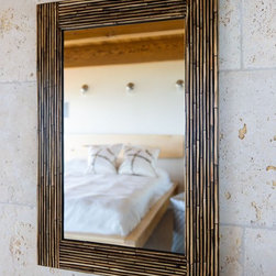 Mirrors - Hand crafted using split Rattan vines this mirrors gives a tropical or coastal feel to any interior.