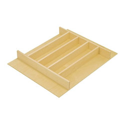 Hafele - Cutlery Tray Drawer Insert - Choose Size: 23.5 in. W x 19.5 in. D x 2.25 in. H