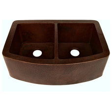 Traditional Kitchen Sinks by Artesano Copper Sinks