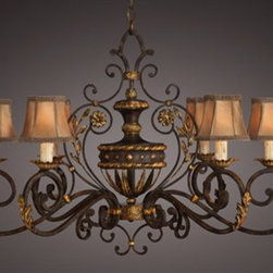 Fine Art Lamps - Fine Art Lamps Castile 218540ST Six-Light 39'' Wide Grand Chandelier - Fine Art Lamps' artistic heritage began in the glass making factory founded by Max Blumberg in New York in the late nineteenth century. In 1940 his son Jack Blumberg gathered the finest designers sculptors and decorative artists to fulfill their vision of becoming the premier lighting manufacturer in the world and Fine Art Lamps was born. From the beginning Fine Art Lamps has achieved a high artistic standard by creating unique and original lighting designs of beautifully handcrafted metal hand-blown glass and other unique materials with exquisite hand applied finishes. In all Fine Art lamps represents the singular vision of over 700 skilled designers artists craftsman and associates working together in five plants totaling over 400000 square feet to create unique works of art for the international design community. An American Manufacturer with International AppealFine Art Lamps has a global market and universal design appeal. From its' Florida facilities Fine Art Lamps lighting travels to every corner of the world destined for the finest homes villas palaces hotels and public spaces.Fine Art Lamps has expertise in foreign wiring requirements covering every continent and customers rely upon the company's International Product Specification Brochure for accurate measurements weights and technical specifications.