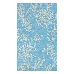 """Surya - Indoor/Outdoor Storm 5'x7'6"""" Rectangle Antique White Area Rug - The Storm area rug Collection offers an affordable assortment of Indoor/Outdoor stylings. Storm features a blend of natural Antique White color. Hand Hooked of 100% Polypropylene the Storm Collection is an intriguing compliment to any decor."""