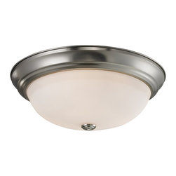 Z-Lite - Z-Lite Athena Ceiling Light X-3F8012 - Simple yet clean lines combined with a chrome finish and a matte opal shade give this three light Ceiling Light lamp a sleek appearance.