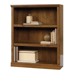 Sauder - Sauder 3 Shelf Bookcase in Oiled Oak - Sauder - Bookcases - 410372 - Get this bookcase for a great accent to your homes decor and browse Sauders complete collection of bookcases today. Oiled Oak finish.